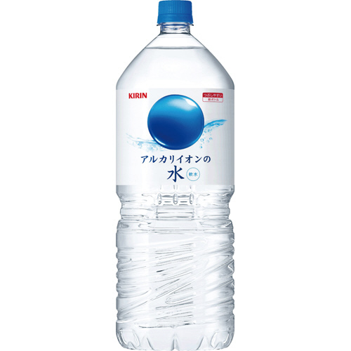 キリンビバレッジ アルカリイオンの水 2L ペットボトル 1セット(12本:6本×2ケース)