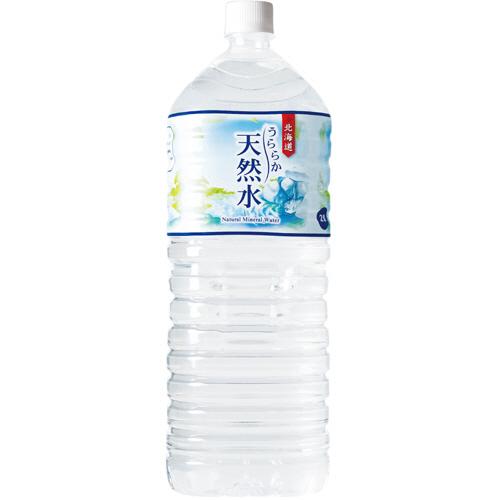 神戸居留地 北海道 うららか天然水 2L ペットボトル 1セット(24本:6本×4ケース)