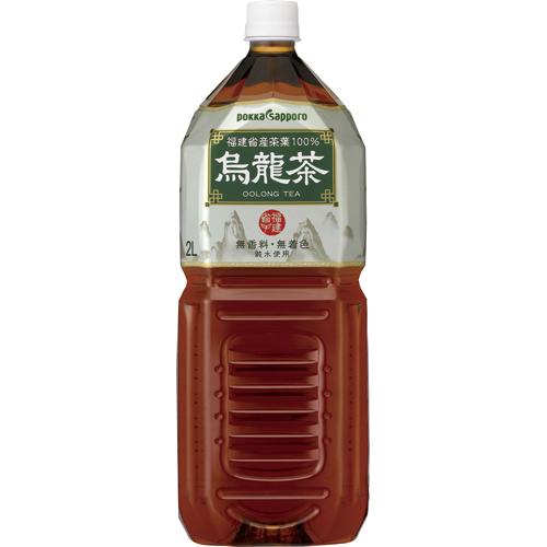 ポッカサッポロ 烏龍茶 2L ペットボトル 1セット(12本:6本×2ケース)