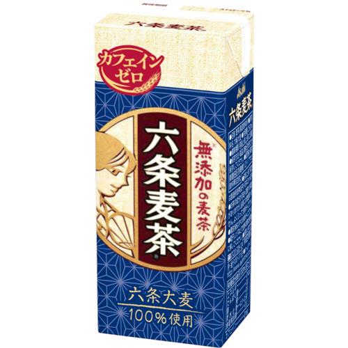 アサヒ飲料 六条麦茶 250ml 紙パック 1セット(24本)