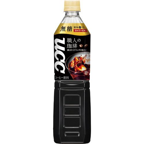 UCC 職人の珈琲 無糖 930ml ペットボトル 1ケース(12本)