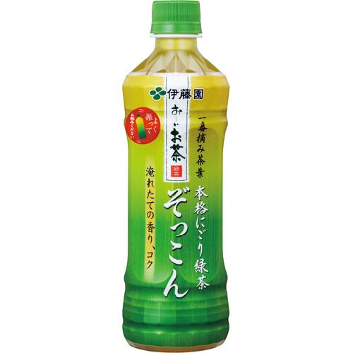 伊藤園 おーいお茶 ぞっこん 500ml ペットボトル 1ケース(24本)