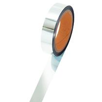 ササガワ タカ印 メッキテープ 幅25mm×長さ50m 銀 40-4484 1巻