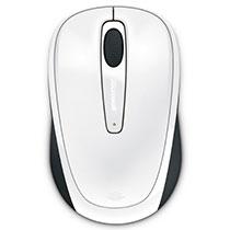 マイクロソフト Wireless Mobile Mouse 3500 BlueTrack グロッシーホワイト GMF-00315 1個