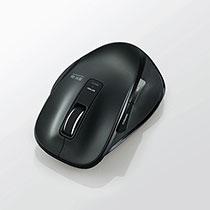 エレコム 5ボタン Bluetooth BlueLEDマウス Mサイズ ブラック M-XG1BBBK 1個