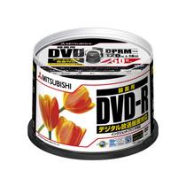 三菱ケミカルメディア 録画用DVD-R 120分 16倍速 ワイドプリンタブル スピンドルケース VHR12JPP50C 1箱(250枚:50枚×5個)
