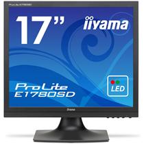 iiyama ProLite 17型スクエア液晶ディスプレイ ノングレア マーベルブラック E1780SD-B1 1台
