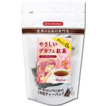 ティーブティック やさしいデカフェ紅茶 アップルティー 1.2g 1パック(10バッグ)