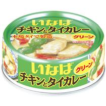 いなば食品 チキンとタイカレー グリーン 125g 1缶