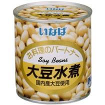 いなば食品 大豆水煮 300g 1缶