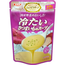 SSK シェフズリザーブ 国産野菜のおいしさ 冷たいさつまいものスープ 160g 1パック