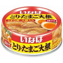 いなば食品 とり・たまご大根 75g 1缶