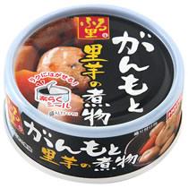 ホテイフーズ ふる里 がんもと里芋の煮物 70g 1缶