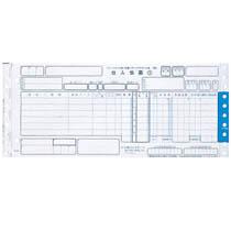 トッパンフォームズ チェーンストア統一伝票 仕入 ターンアラウンド1型(6行) 5P・連帳 12×5インチ C-BA15 1箱(1000組)